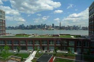 View from the Maxwell Place Resident's Lounge