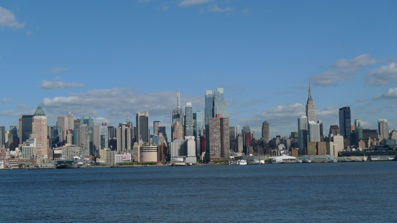 A view of NYC from Hoboken.