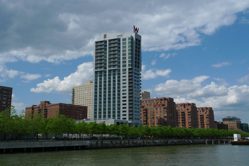 W Hotel and residences in hoboken