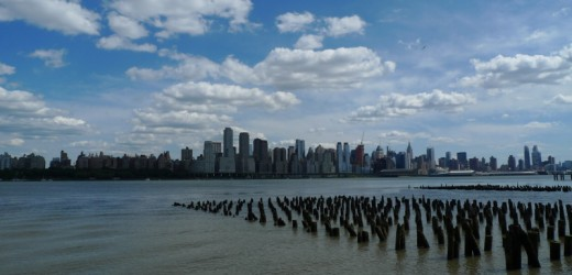 View from Jacobs Ferry Town Homes West New York NJ