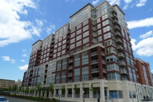 Maxwell Place condo building in Hoboken NJ