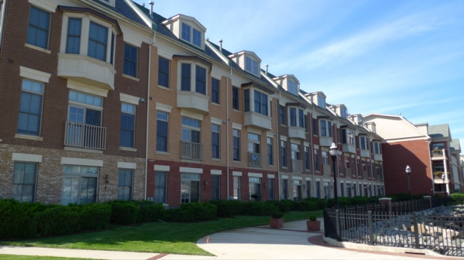 townhouse-style condos in New Jersey